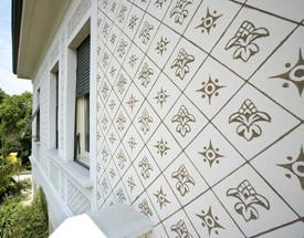 Decorazioni muri esterni case tinteggiatura a graffito - Decorazioni muri esterni ...