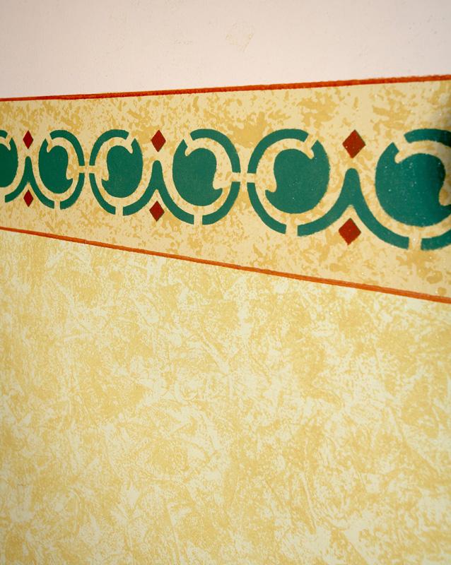 Stencil brescia decorazioni muri interno decoratore pareti - Decorazioni muri stanzette ...