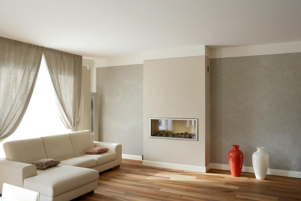 Tinteggiature per interni for Interni abitazioni moderne